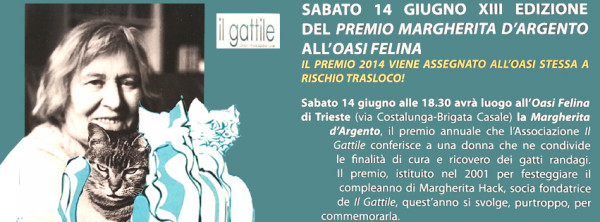 Festa per Margherita Hack! giugno 2014 a Trieste