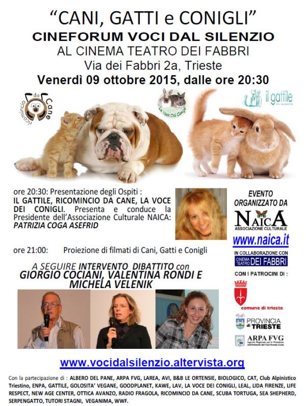 Assoc Naica ott 2015 - Cani, Gatti, Conigli