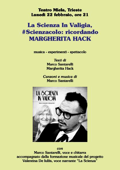 La Scienza in Valigia, #Scienzacolo: ricordando Margherita Hack