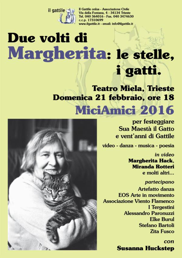MiciAmici XV edizione 2016 - Assoc. Il Gattile onlus (Trieste)